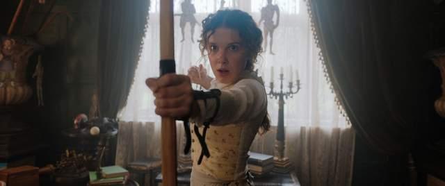 Міллі Боббі Браун у ролі сестри Шерлока Голмса