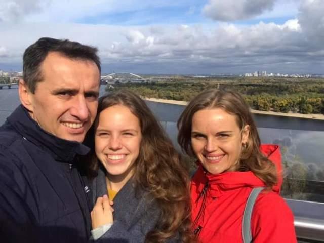 Віктор Ляшко зі сім'єю