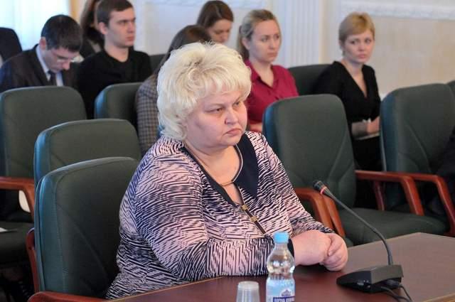 Людмилу Горячківську