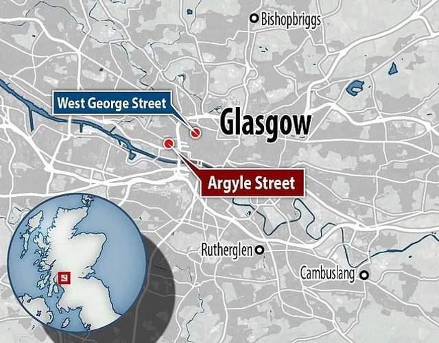 Глазго, різанина, напад, кримінал, Шотландія, Велика Британія