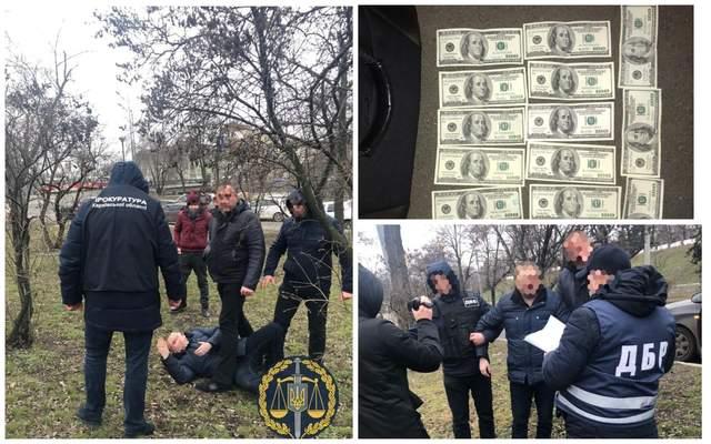 Хабар, поліцейський, гроші, Харків, затримання, прокуратура, ДБР
