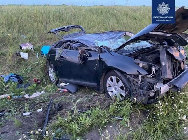 аварія на трасі Київ - Одеса