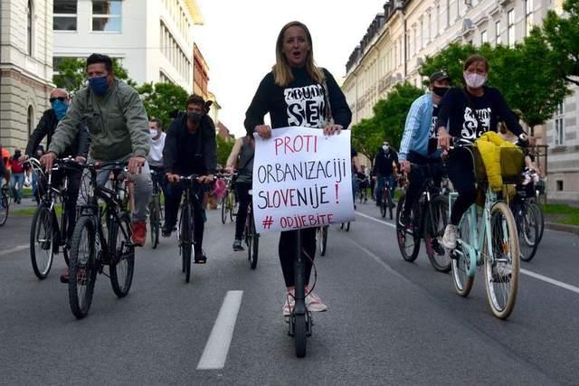 протести проти уряду в Словенії