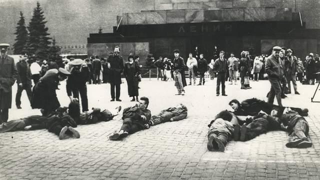 Акція в Москві 1991
