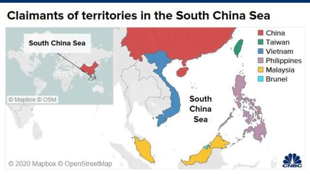 Посягання Китаю
