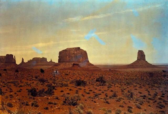 Долина монументів на кордоні Юти і Арізони