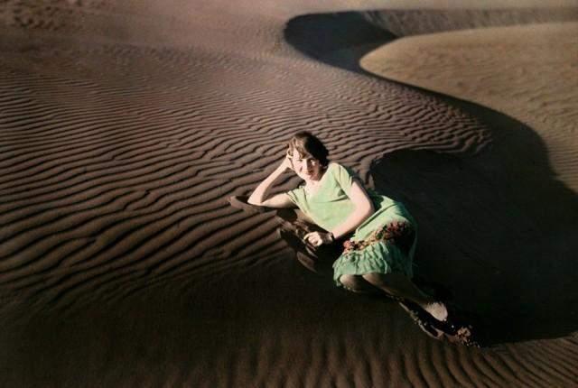 Піщані дюни поблизу Кресент-Сіті, Каліфорнія