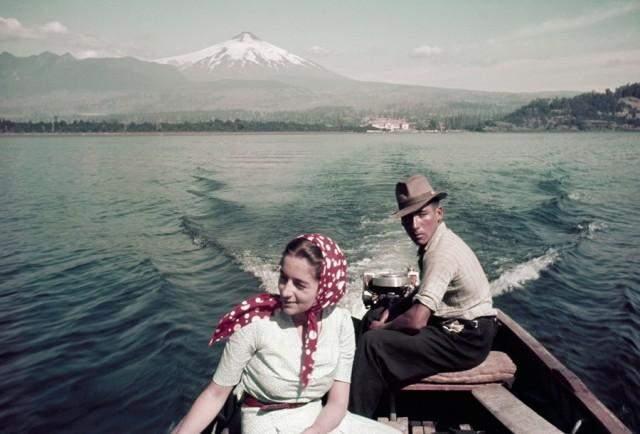 Прогулянка на човні по озеру Вильяррика, Чилі