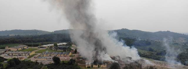 В Турции произошел сокрушительный взрыв на фабрике фейерверков: 2 погибших, много раненых