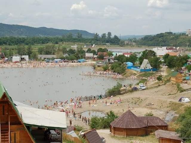 Озеро Кунігунда в Солотвино