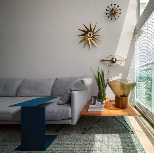 Урбанизм с ноткой хюгге – дизайнеры обустроили пентхаус для семейной пары в Нью-Йорке