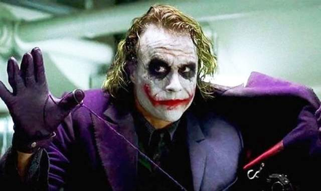 Джокер у виконанні легендарного Гіта Леджера