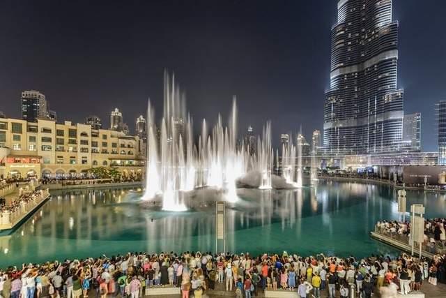 Найкрасивіший музичний фонтан в ОАЕ