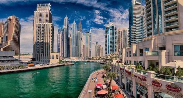 Елітний район Dubai Marina