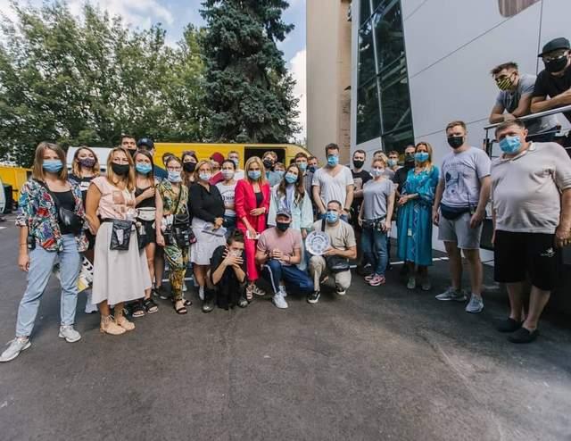 Знімальна група комедії
