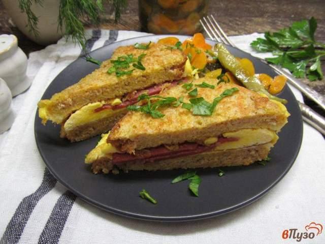 Рецепт поживних тостів