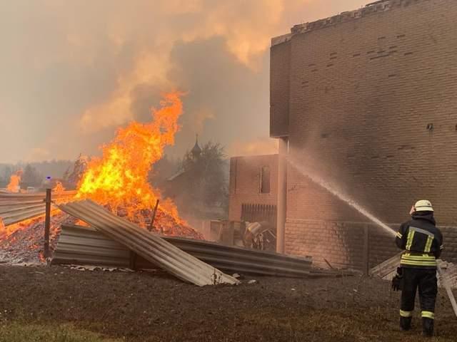 пожежі на луганщині ДСНС