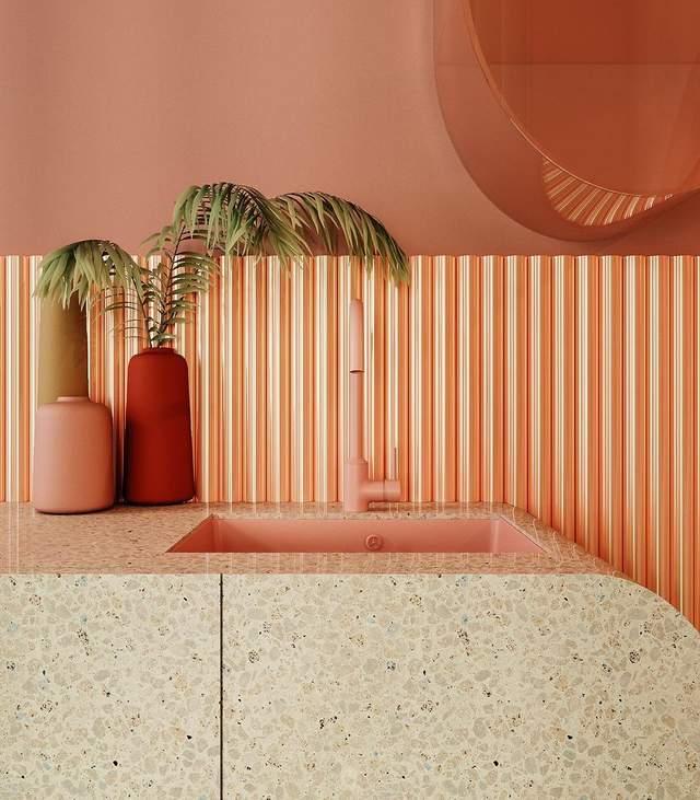 Дизайнер вміло поєднав різноманітні текстури / Фото Archdaily