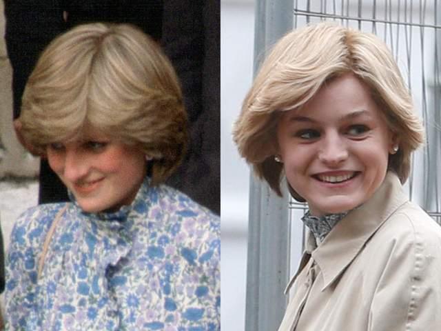 Неймовірна схожість леді Ді і Емми Коррін