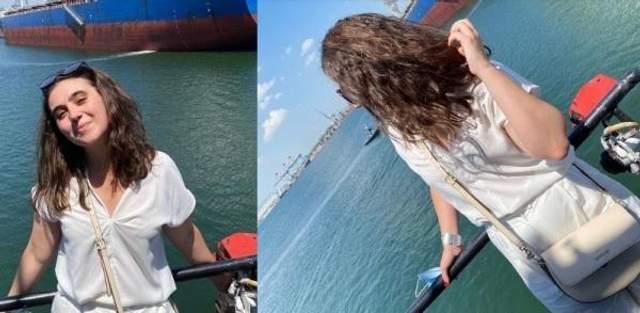 Прессекретарка Зеленського на морі в Одесі