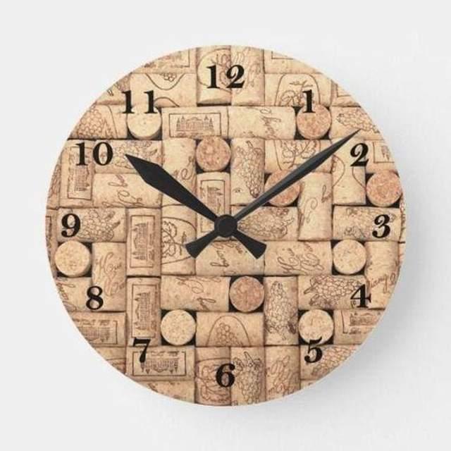 годинник з корків
