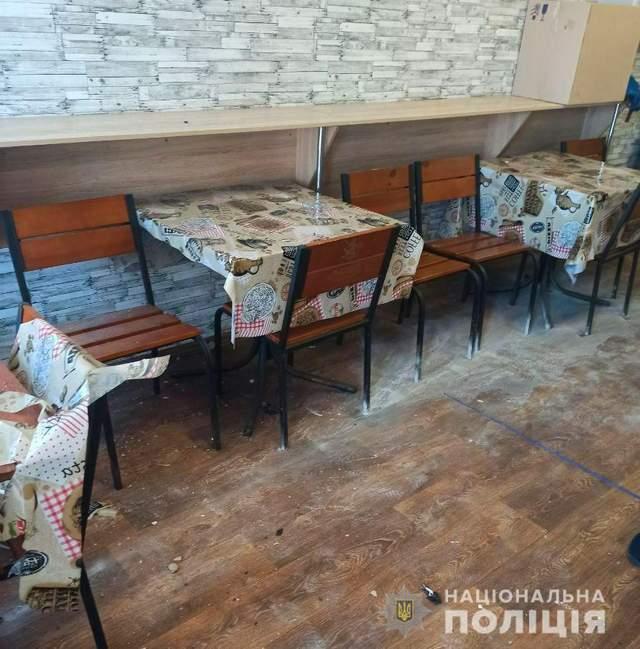 Вибухи у кафе Полтави
