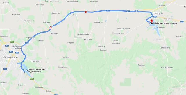 Засуха в Крыму: оккупанты будут прокладывать 'временный' 60-километровый трубопровод
