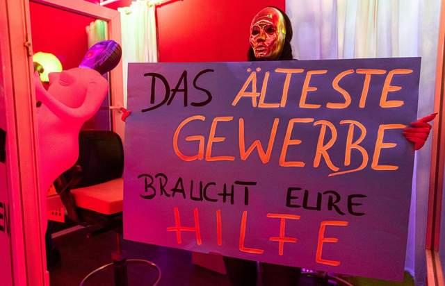 Протест секс-працівників у Гамбурзі
