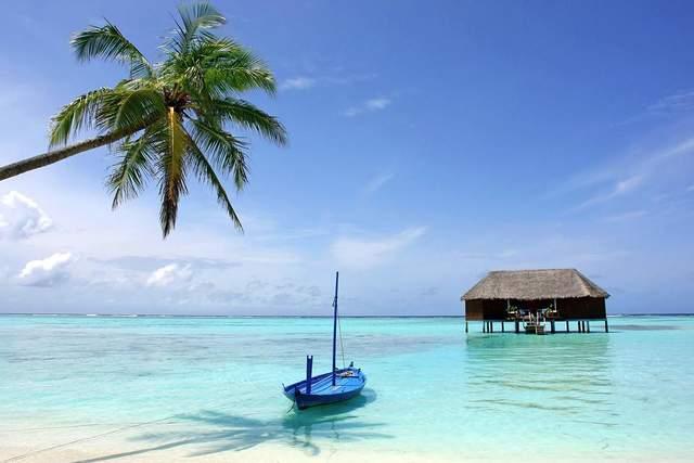 Неймовірний пляж Багамських островів