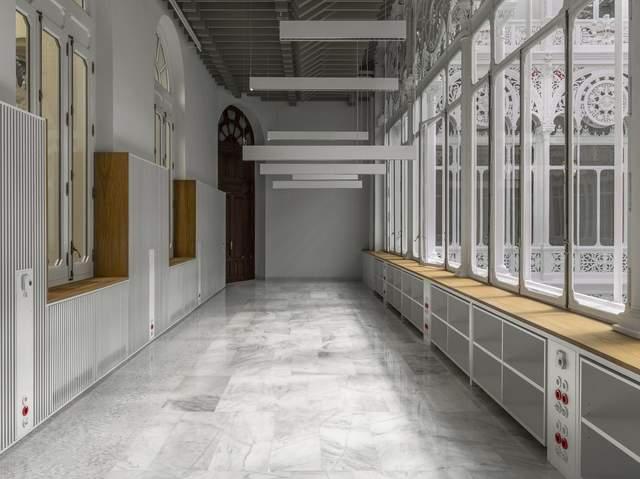 Бібліотеку банку Іспанії дещо видозмінили / Фото Archdaily