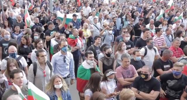 протести у болгарії