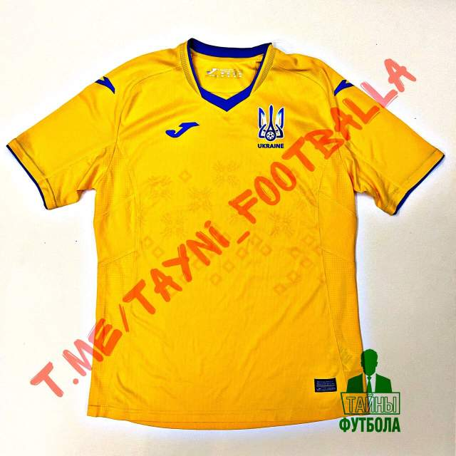В сети появились первые фото новой формы сборной Украины