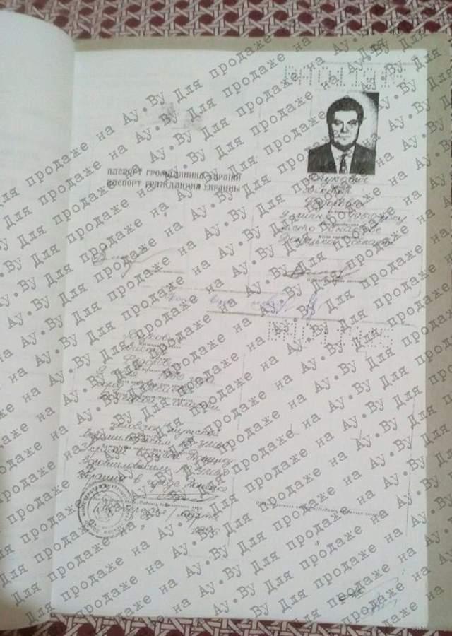 документи Януковича