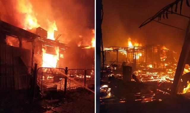 Пожежа в Затоці