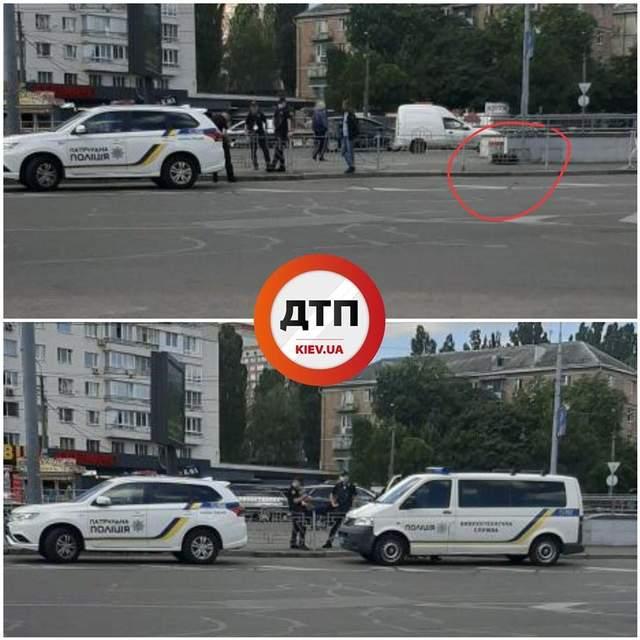 замінування в Києві
