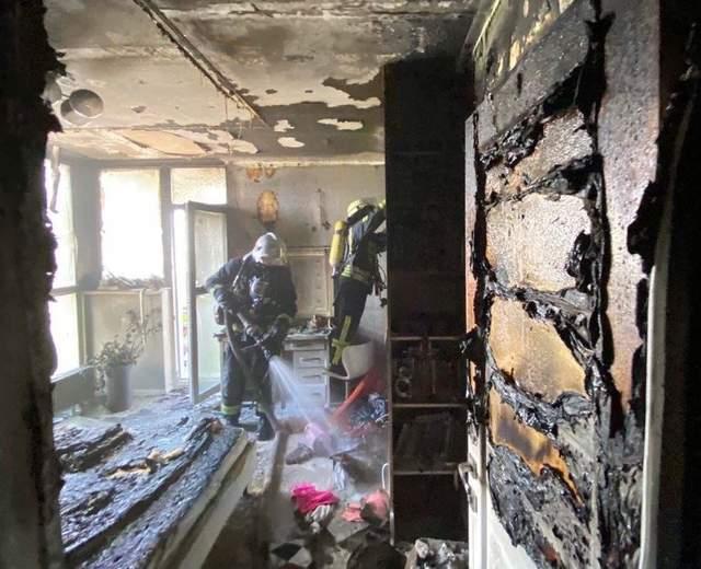 У Києві 10-річна дівчинка намагалася самотужки загасити пожежу