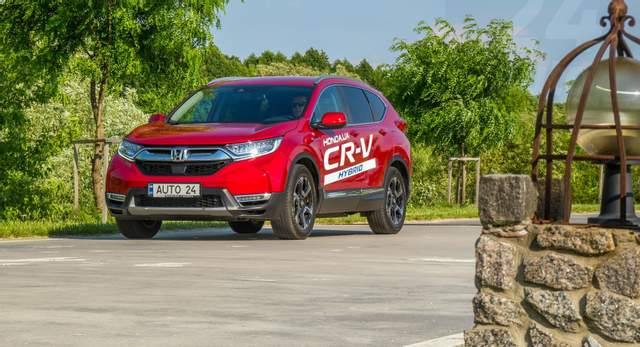 Honda CR-V E-HEV: гібридний кросовер, що вміє співати