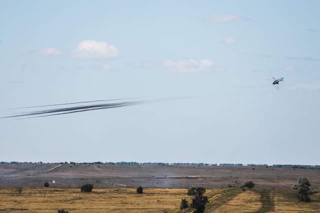 військові навчання НАТО Україна авіація