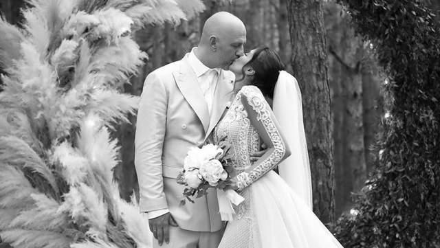Потап показав чотири весілля з Настею Каменських – фантастичні фото