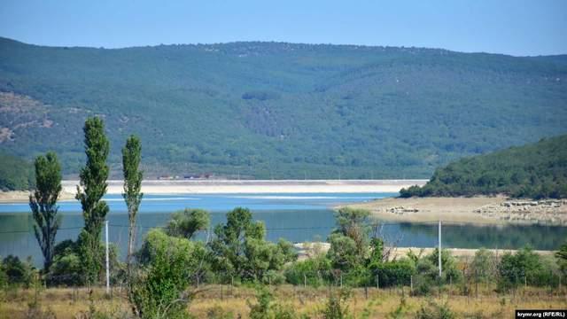 У Криму міліє Чорноріченське водосховище