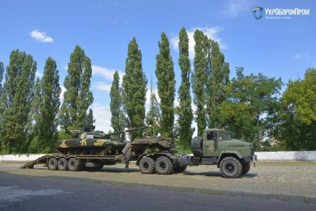 Модернізовані танки Булат