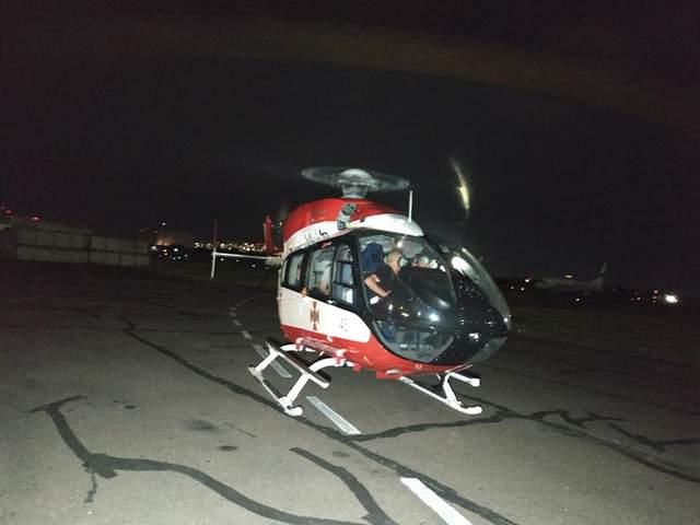 ДТП возле села Дубина: тяжело травмированную девочку на вертолете перевезли из Бродов в Киев