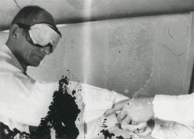 Ейхман в літаку на шляху до Ізраїлю, 1960 рік