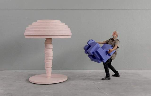 Меблі виглядають доволі дивно / Фото Archdaily