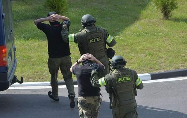 Затримання вагнерівців під Мінськом