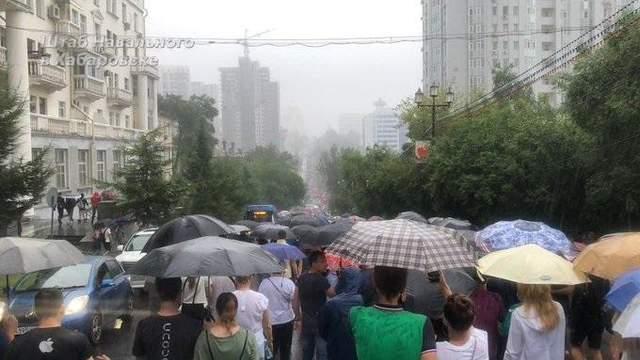 Протесты в Хабаровске не утихают: прошла уже 22-я акция – фото, видео
