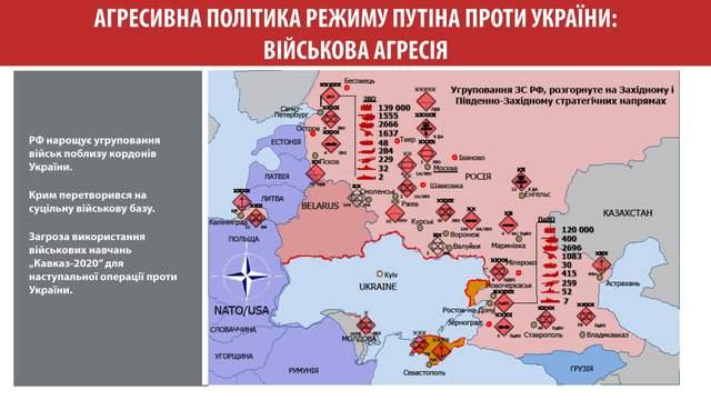 Російські війська поблизу українського кордону