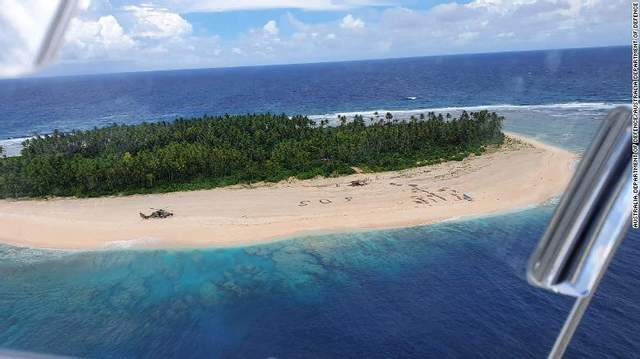 безлюдний острів