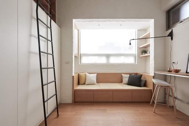 Візуально помітно, що квартиру розідлили на зони / Фото Archdaily