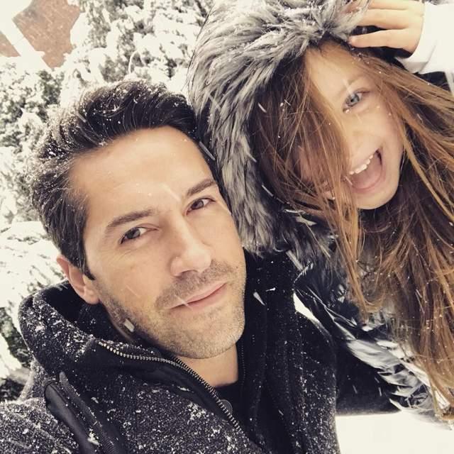 Скотт Едкінс з донькою
